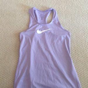 Nike girls size large tank top (racer back)!